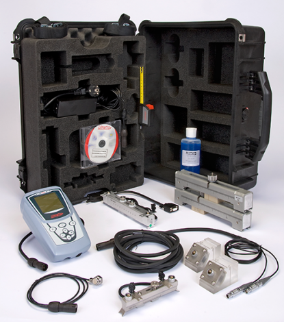 Ultrasonic flowmeter rental kit