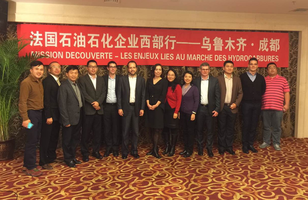 Ultraflux joined the French delegation of energy enterprise to meet main company actors on China Oil & Gas market